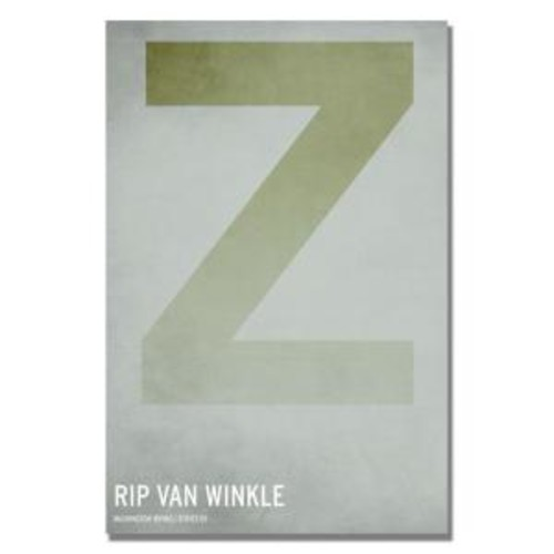 Trademark Fine Art 16 in. x 24 in. Rip Van Winkle Canvas Art