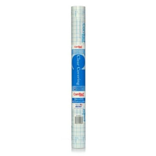 Con-Tact Brand Self-Adhesive Shelf Liner in Clear
