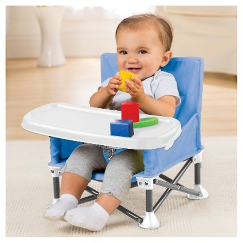 Summer Infant Pop 'N Sit Portable Booster Seat - Blue