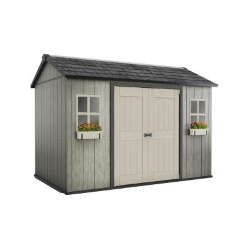 Keter My Shed 11 ft. x 7.5 ft. Fully Customizable Storage Shed