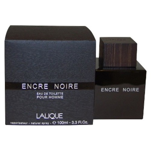 Lalique Encre Noire Cologne Spray for Men, 3.3 Fluid Ounce [Single]