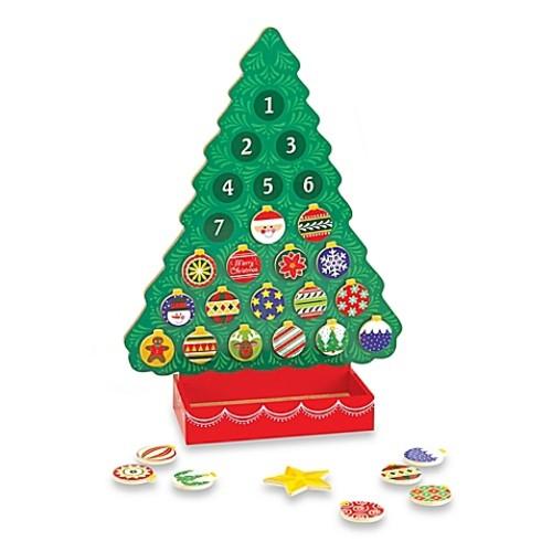 Melissa and Doug Christmas Wooden Advent Calendar