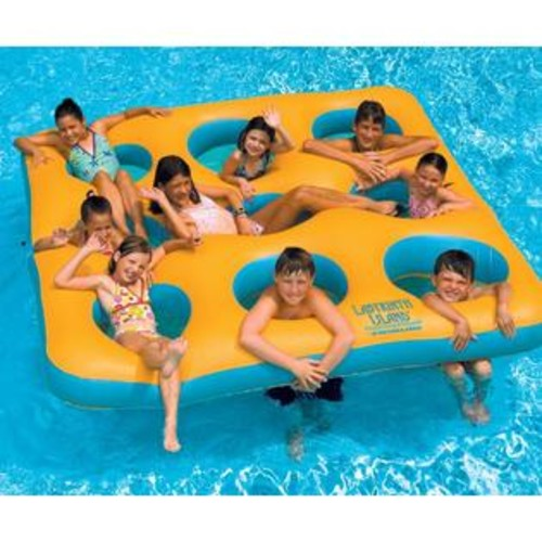 Blue Wave Labyrinth Island Inflatable Pool Toy