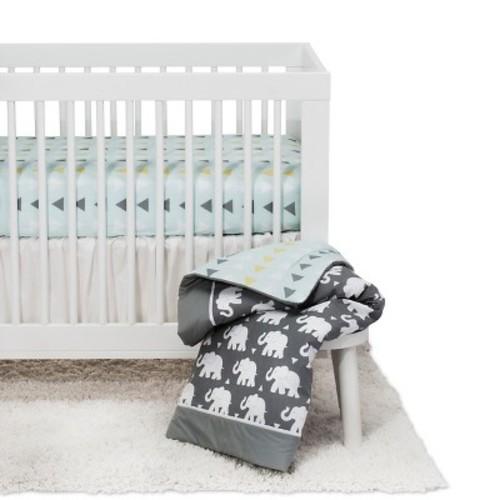 Pam Grace Creations Indie Elephant Crib Bedding Set