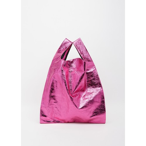 Mirror Synthetic Leather Bag