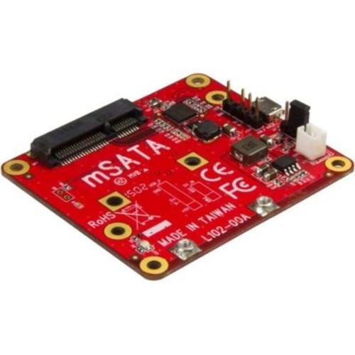StarTech.com USB to mSATA Converter for Raspberry Pi and Development Boards, USB to mini SATA Adapter for Raspberry Pi