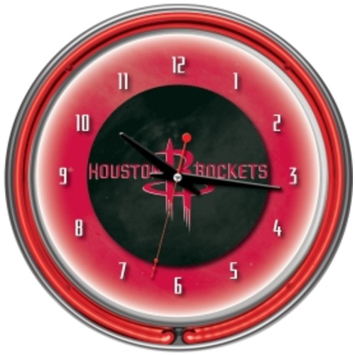 Trademark Games Houston Rockets 14'' Neon Clock