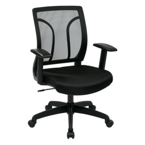 Work Smart Screen Back Office Chair w/Mesh Seat