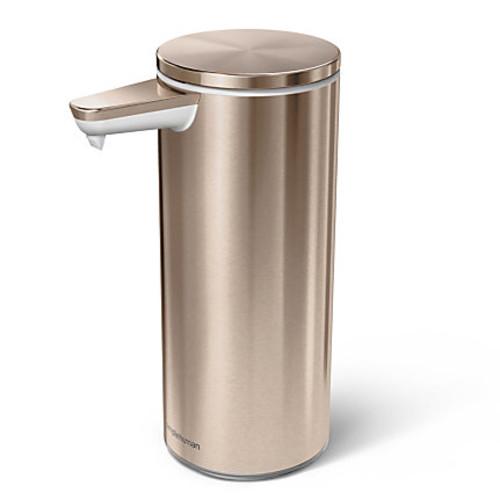 simplehuman Sensor Soap Pump, 9 Oz, Rose G