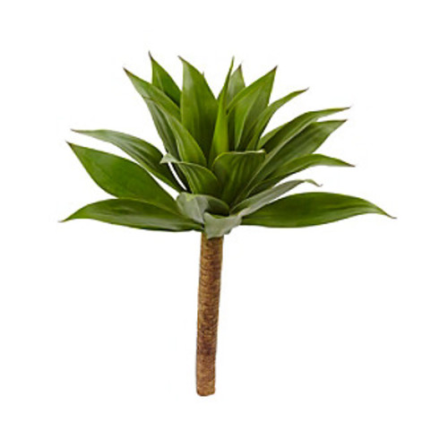 Nearly Natural Agave Plant with Stem