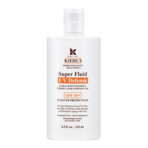 Dermatologist Solutions Super Fluid UV Defense Sunscreen Broad Spectrum SPF 50+, 4.2 oz.