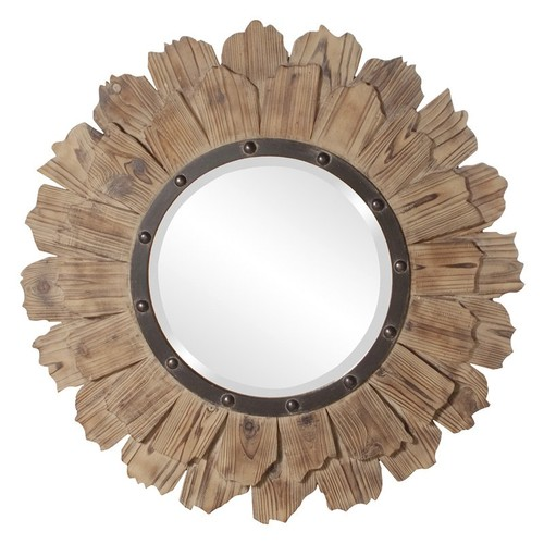 Howard Elliott Hawthorne Wall Mirror 35 diam. in.