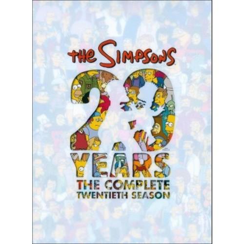 The Simpsons: The Complete Twentieth Season (DVD)