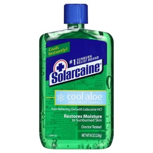 Solarcaine Aloe Extra Burn Relief Gel-8 oz.