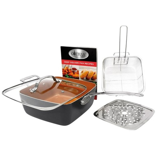 Gotham Steel Deep Square Pan - 9 1/2