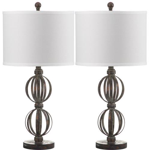 Safavieh Calista Double Sphere Table Lamp