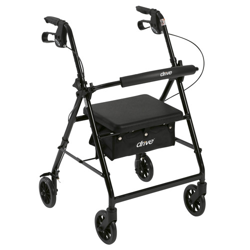 Drive Medical Walker Rollator with 6