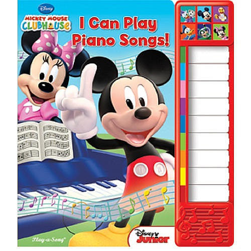 Little Piano Book Mickey Mouse Clubhouse