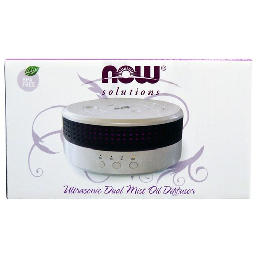 NOW Foods - Ultrasonic Dual Mist Oil Diffuser