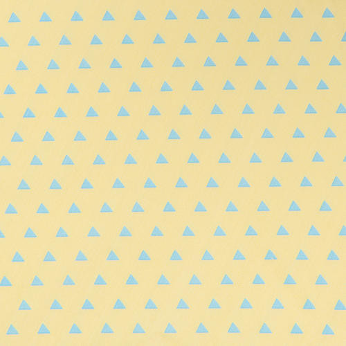 Trend Lab Triangles Changing Pad Cover - Yellow/Aqua
