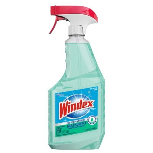 Windex Disinfectant Cleaner Multi-Surface With Glade Rainshower 23 fl oz