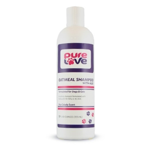 Oatmeal Shampoo with Aloe for Dogs and Cats