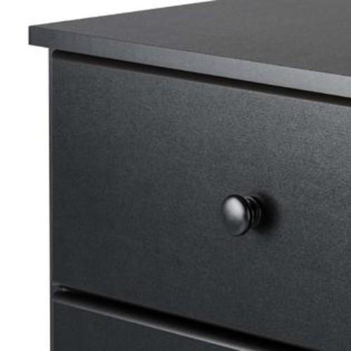 Prepac Astrid 4-Drawer Dresser Black