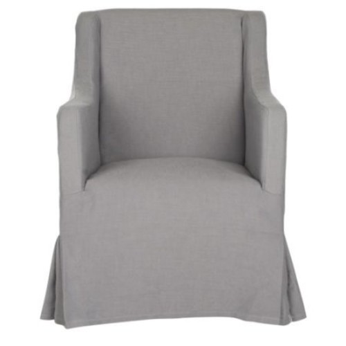 Safavieh MCR4542 Sandra Slipcover Chair