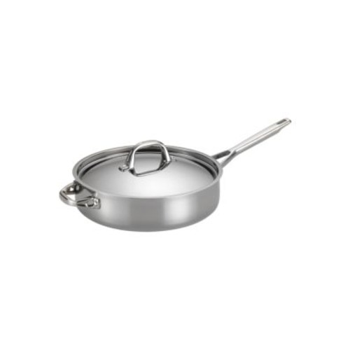 Tri-Ply Clad Stainless Steel 5-Quart Covered Saute