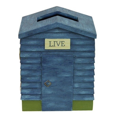 Bacova Live Love Lake Tissue Box Cover