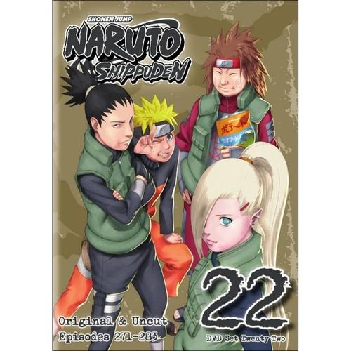 Naruto: Shippuden - Box Set 22 [2 Discs] [DVD]