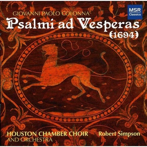Psalmi Ad Vesperas CD (2012)