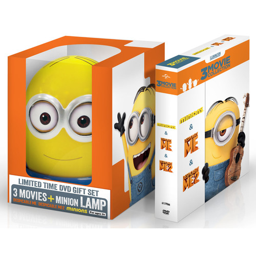 Despicable Me: 3-Movie Collection [With Minion Lamp] [DVD]
