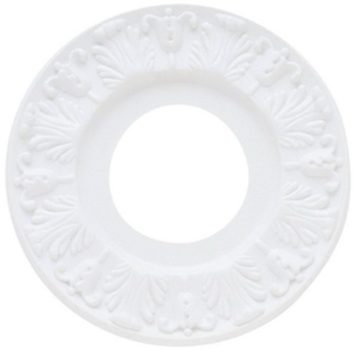 Westinghouse Lighting Victorian Ceiling Medallion, 10 Inch, Molded Plastic