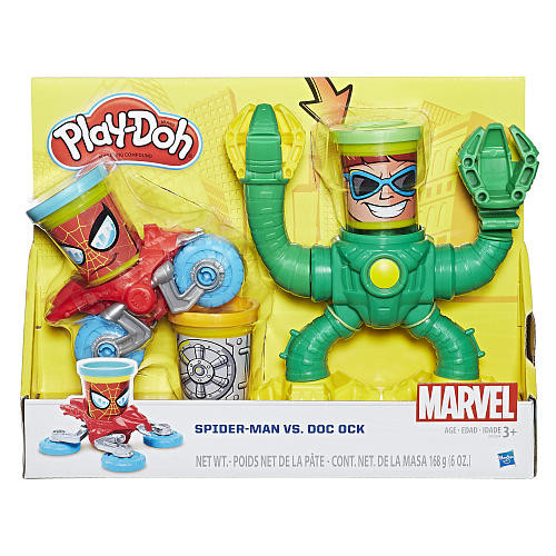 Marvel Spider-Man vs Doc Ock Vehicle Set - (Colors/Styles Vary)