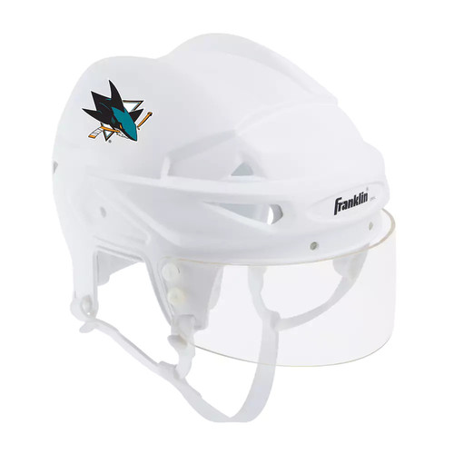 Franklin NHL Hockey San Jose Sharks Mini Player Helmet