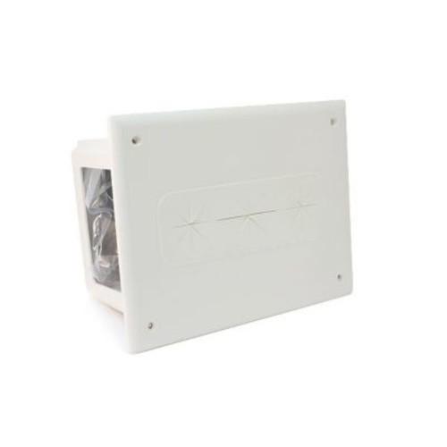 Monoprice Recessed Media Box, White