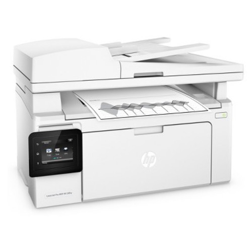 HP - LaserJet Pro MFP M130fw Wireless Black-and-White All-In-One Printer