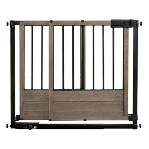 HOMESAFE by Summer Infant Rustic Home Safety Gate in Black