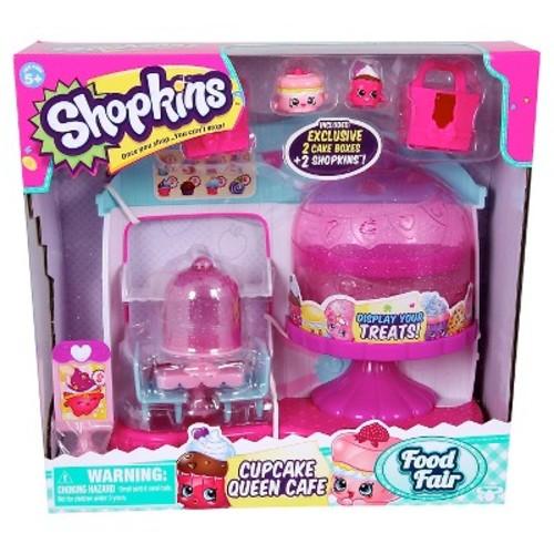 Shopkins Food Fair Playset - Cupcake Queen Caf