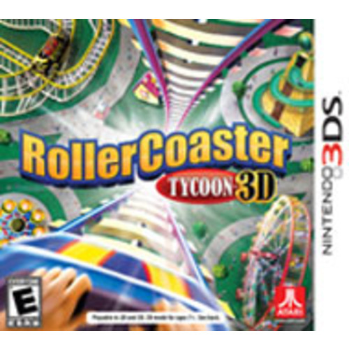 Rollercoaster Tycoon 3D [Pre-Owned]