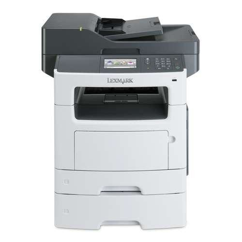 Lexmark MX511DTE Mono Laser Multifunction Printer with Networking & Duplex - Print up to 45 ppm, Copy, Scan, Fax, 550-sh