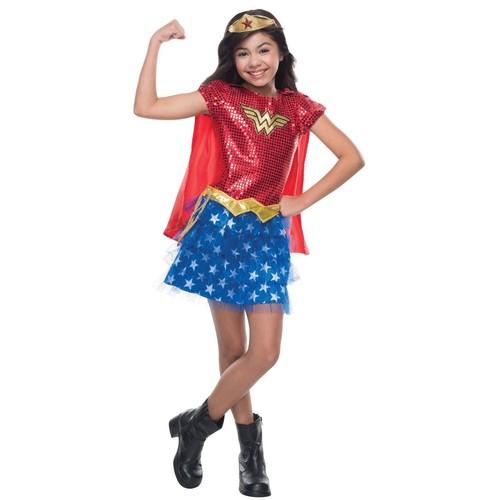 Wonder Woman Sequin Costume for Kids