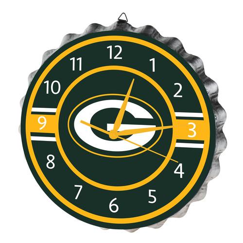NFL Green Bay Packers Bottle Cap Wall Clock