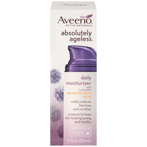 Aveeno Absolutely Ageless Daily Moisturizer With Sunscreen SPF 30, 1.7 fl oz, 1 Count