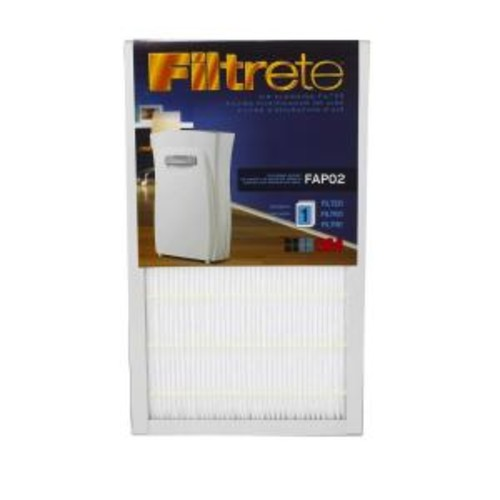 Filtrete Air Cleaning Replacement Filter for Filtrete Models FAP01-RS and FAP02-RS