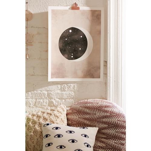 Claire Goodchild Moon & Stars Libra Art Print [REGULAR]