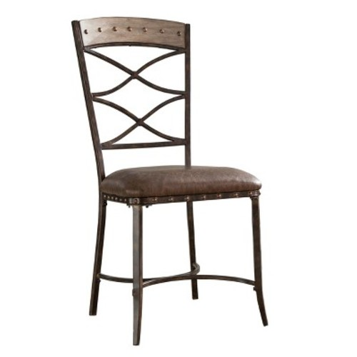 Emmons Dining Chair (Set of 2) - Washed Gray - Hillsdale Furniture