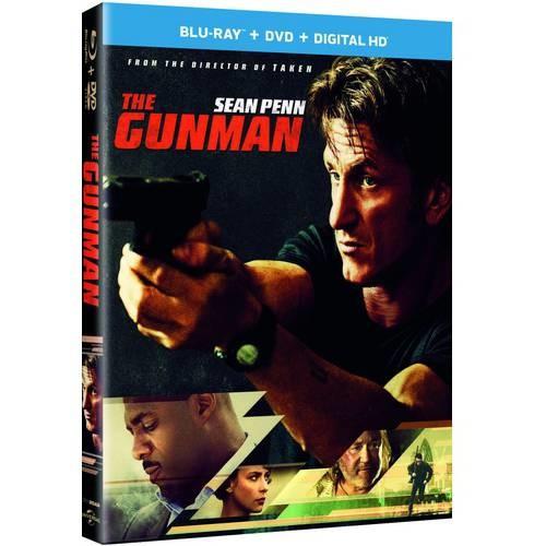 The Gunman [2 Discs] [UltraViolet] [With Digital Copy] [Blu-ray/DVD]