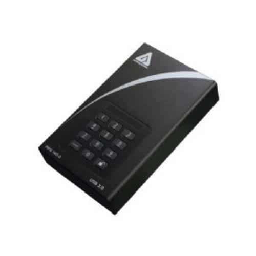 Apricorn Aegis Padlock DT ADT-3PL256F-10TB - Hard drive - encrypted - 10 TB - external (desktop) - USB 3.0 - buffer: 8 MB - FIPS 140-2 Level 2, FIPS 197, 256-bit AES-XTS